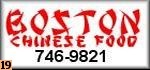 Boston Chinese Restaurant